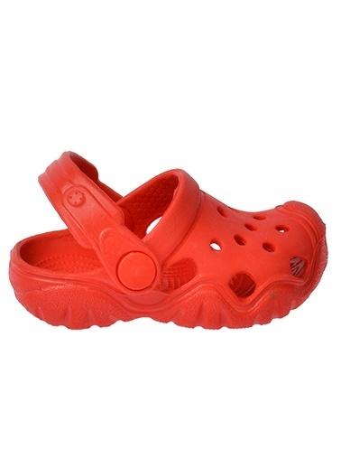 Kiko Kids Kiko Akn E400.000 Plaj Havuz Banyo Kız/Erkek Çocuk Sandalet Terlik Kırmızı